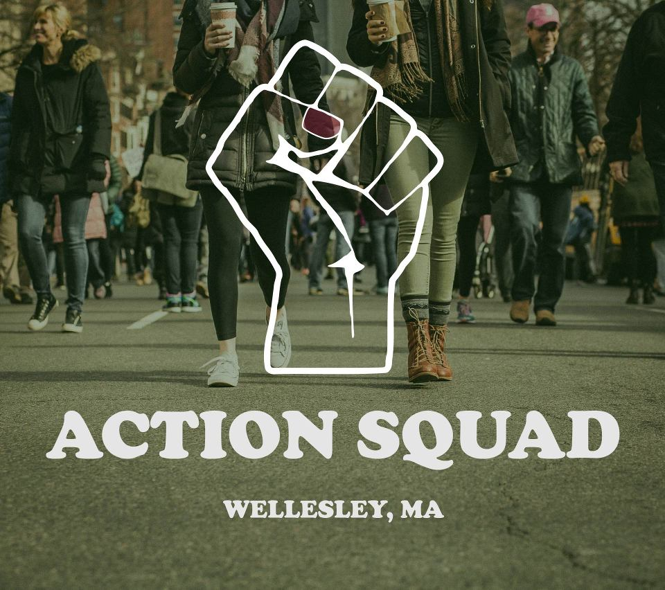 action squad main fist logo