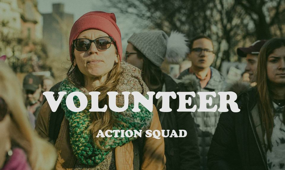 action squad volunteering women